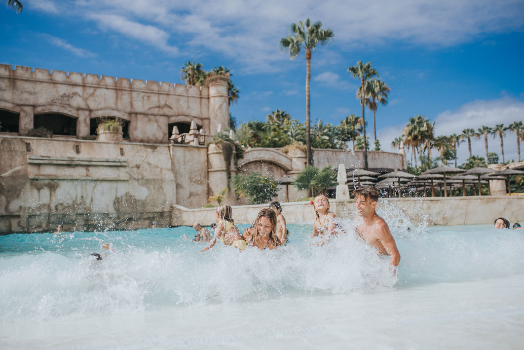Family and Child Wave Pool