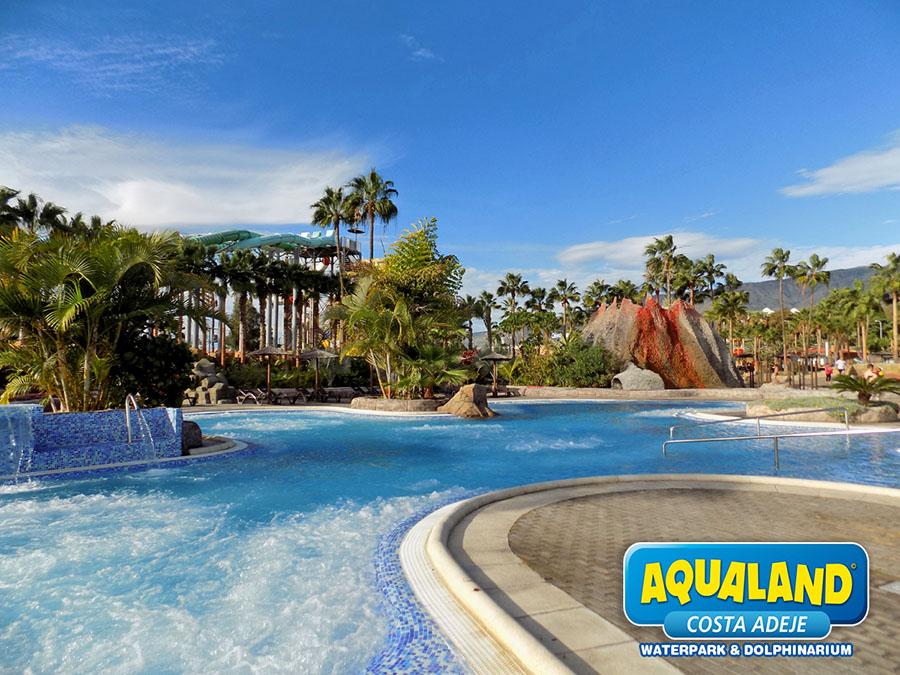 Jacuzzi en Aqualand Costa Adeje