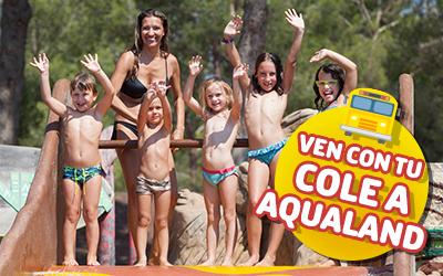 Con tu colegio en Aqualand!